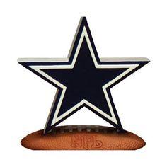 Dallas Cowboys NFL Team Logo Figurine