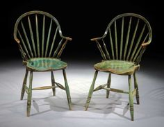 George III Yealmpton continuous-arm chairs, circa 1820. (Robert Young) - Jack Plane (Pegs and 'Tails)