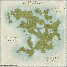 The Land Of Elfcarron by WorldBuilding.deviantart.com on @deviantART
