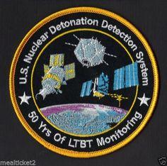 US Nuclear Detonation Detection Satellite system 50 Yr USAF ORIGINAL SPACE PATCH