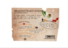 Four basic facts about child detention in Mexico, share the info-graphic
