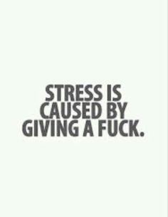 Be stress free
