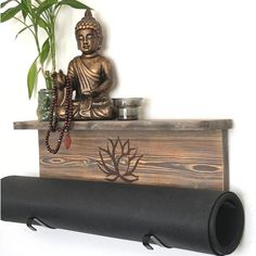 Yogamatdisplay.com When you can't decide between brown or gray- Get both in One! #yoga