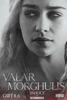 Daenerys Targaryen Season Four Poster for Game of Thrones