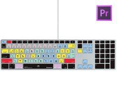 Silicone Keyboard Cover Adobe Premiere Pro