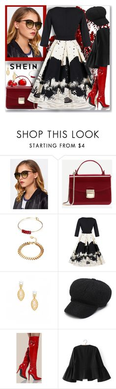 """""""shein-II-4"""" by ane-twist ❤ liked on Polyvore featuring Olia and shein"""