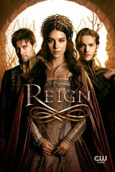 Reign -- Fantasy/history taking Mary, Queen of Scots as its starting point. My new guilty pleasure. Of course it is historical fiction - you can see the zippers on all of the beautiful gowns.