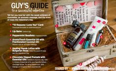 Don't you just love this GUYS GUIDE to a successful valentine from the latest doTERRA Winter Magazine 2014!