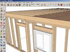 Barre outils planbois.com pour Sketchup et ses composants dynamiques pour ossature bois - YouTube