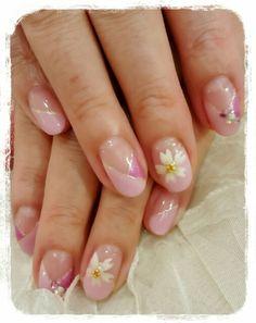 桜ネイル!