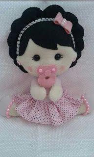 NS Detalles: Muñecas Bailarinas Felt Fabric, Fabric Dolls, Fox Toys, Softie Pattern, Felt Patterns, Felt Dolls, Plush Dolls, Doll Crafts, Unicorn Birthday