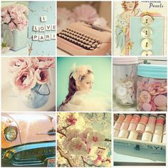 Pink and Blue | 1. Untitled, 2. vintage items everywhere, 3.… | Flickr - Photo Sharing!