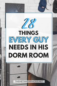 OMG I've been looking everywhere for college dorm essentials for boys and finally found it! These are definitely dorm room must haves for guys! #dorm #college #guys College Apartment Checklist, College Apartment Bathroom, College Dorm Essentials, College School Supplies, College Room, College List, College Guys, Dorm Room Storage, Dorm Room Organization