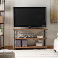 Homelegance Factory TV Stand - 3228-05S