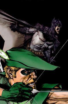 Lee Bermejo - Green Arrow and Batman
