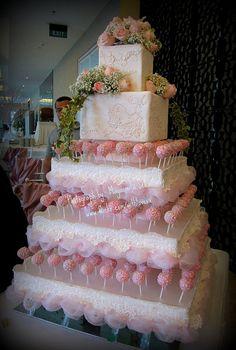Mayasmita Food Stories Pink Wedding Cake Pops
