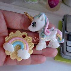 Unicórnio #chaveirosunicornios #unicornio ORÇAMENTOS POR E-mail artepaixaobiscuit@hotmail.com ou whatsapp descrito no perfil.