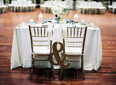 sweetheart table / photo by melaniegabrielle.com