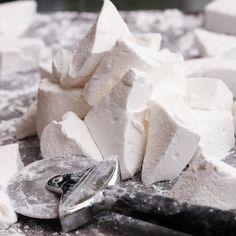 homemade marshmallows - so good!