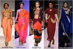 #Drape #styles #LakmeFashionWeek #gorgeous