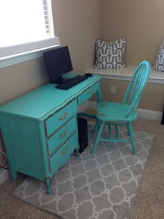 Chalk paint...I can't wait to do my TV stand at home and camp :)