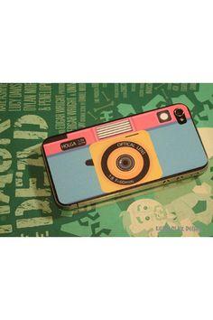 Killer Ducks Holga Camera iPhone 4/4S Skin