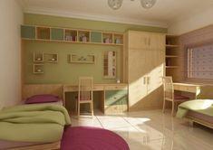girls bedroom by gderkeshli