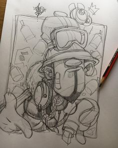 Pricking about.... #cheo #sketch