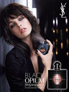 Yves Saint Laurent Black Opium Ad Campaign Fall/Winter 2014/2015