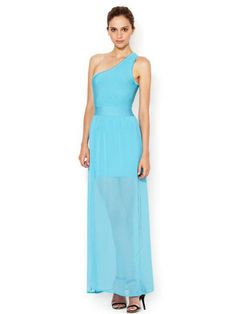 Long Prom Evening Gown Maxi Dress in blue color. This dress speaks a lot about your style. #promdresses