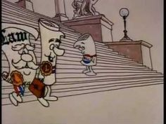 Civics Lesson Cartoon For Kids - How A Bill Becomes a Law - Schoolhouse Rock