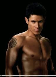 Alex Meraz as Paul in Twilight Saga. He look yummy enough to eat.
