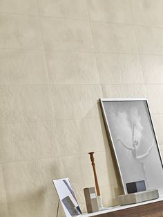 Edge a concrete look porcelain tile from Florida Tile. Floor and Wall tile. Flooring.      Products: Edge, Cream
