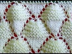 Cómo Tejer Conos de Helado-Knit Ice Cream Cones 2 Agujas (298) - YouTube