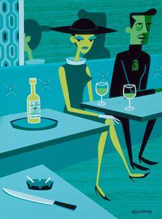SHAG's The Absinthe Drinker