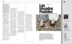 Música: Los Mundos Posibles #MinimalDesign #Minimal #RevistaMarvin #Marvin #ArtDirection #Magazine #EditorialDesign #Editorial #GraphicDesign #losmundosposibles #musiceditorial