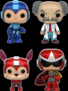 Funko - Megaman Collectors Set POP! Vinyl Figures - Muti-colored, G847944001492