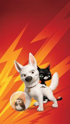 Movie Game TV Anime Retro Film prints to buy. Disney Pixar, Disney Dogs, Disney Fun, Disney Movies, Disney Images, Disney Pictures, Movie Wallpapers, Cute Cartoon Wallpapers, Bolt Disney