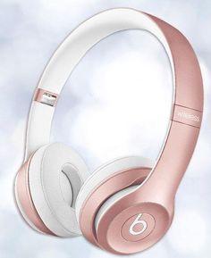 Beats Solo 2 Wireless headphones now come in rose gold! Lindo de mais ótima escola para quem quer um fone de alta qualidade de som