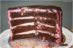 Primer cumpleaños de Paula - birthday - party - fiesta - decoración - ideas - tarta - tarta de cumpleaños - layercake - chocolate