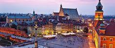 Old town, Warsaw (capital of Poland) Places Ive Been, Places To Visit, Merian, Warsaw Poland, Old Town, Paris Skyline, Beautiful Places, City, Castles