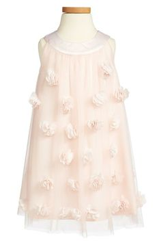 A pretty pink embellished dress for Easter lunch.