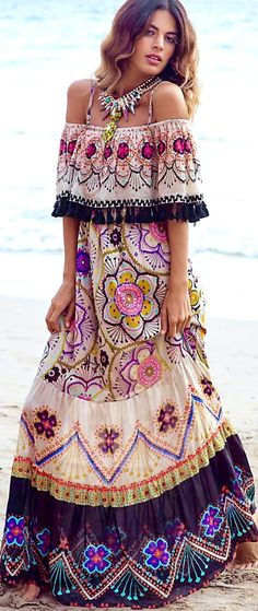 Love this Boho style dress!