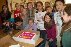 Box Tops for Education cake cute idea for the winning class!