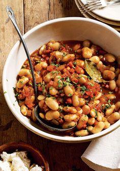 Giant Beans in Tomato Sauce Recipe