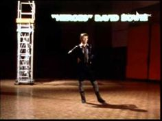 DAVID BOWIE- ODEON  -1977 - italian TV