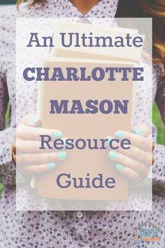 An Ultimate Charlotte Mason Resource Guide | www.joyinthehome.com