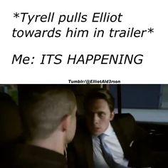 Elliot Alderson| Tyrelliot| Mr. Robot| YEAAAAH
