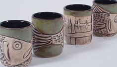 Pottery by Shanna Wheelock | Pottery, Sculpture, Weaving | Lubec, Maine    Tiles?