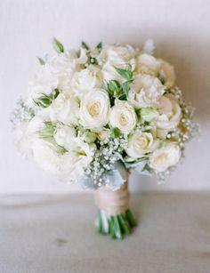 Beautiful ivory bouquet…